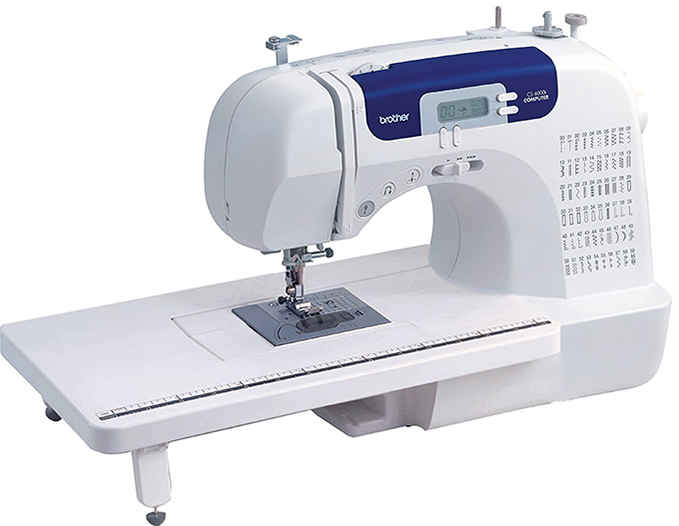 Top 10 Computerized Sewing Machines for 2017 -Brother cs6000i