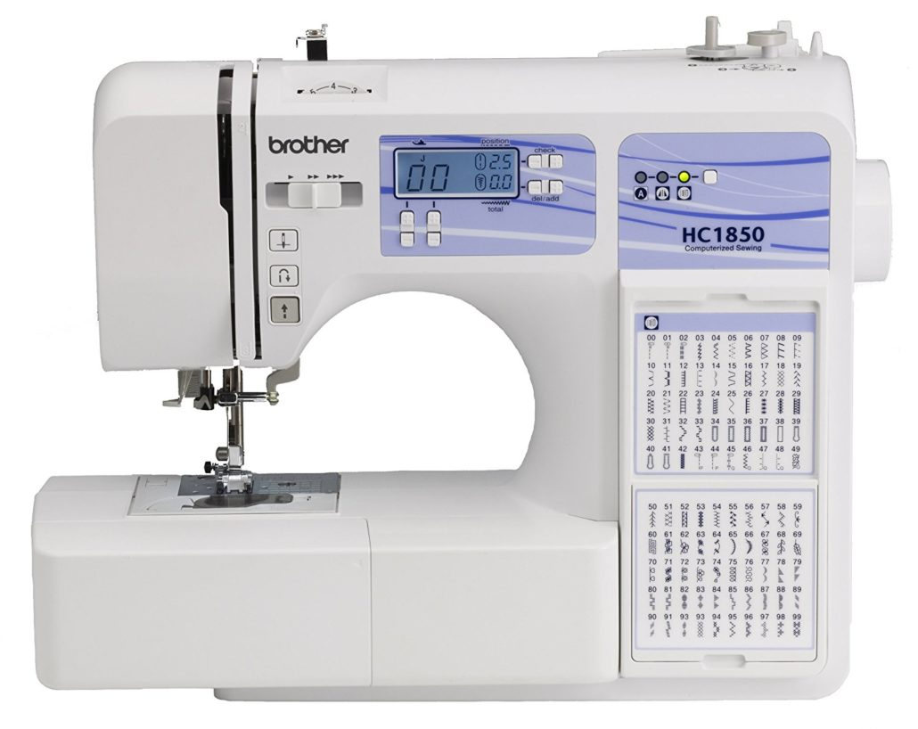 Top 10 Computerized Sewing Machines for 2017 - Brother HC1850