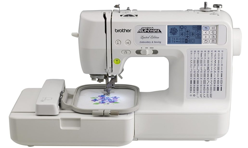 Top 10 Computerized Sewing Machines for 2017 - Brother LB6800PRW Project Runway