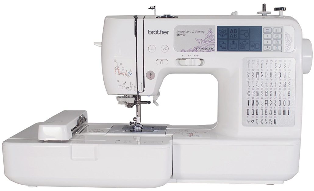 Top 10 Computerized Sewing Machines for 2017 - Brother SE400