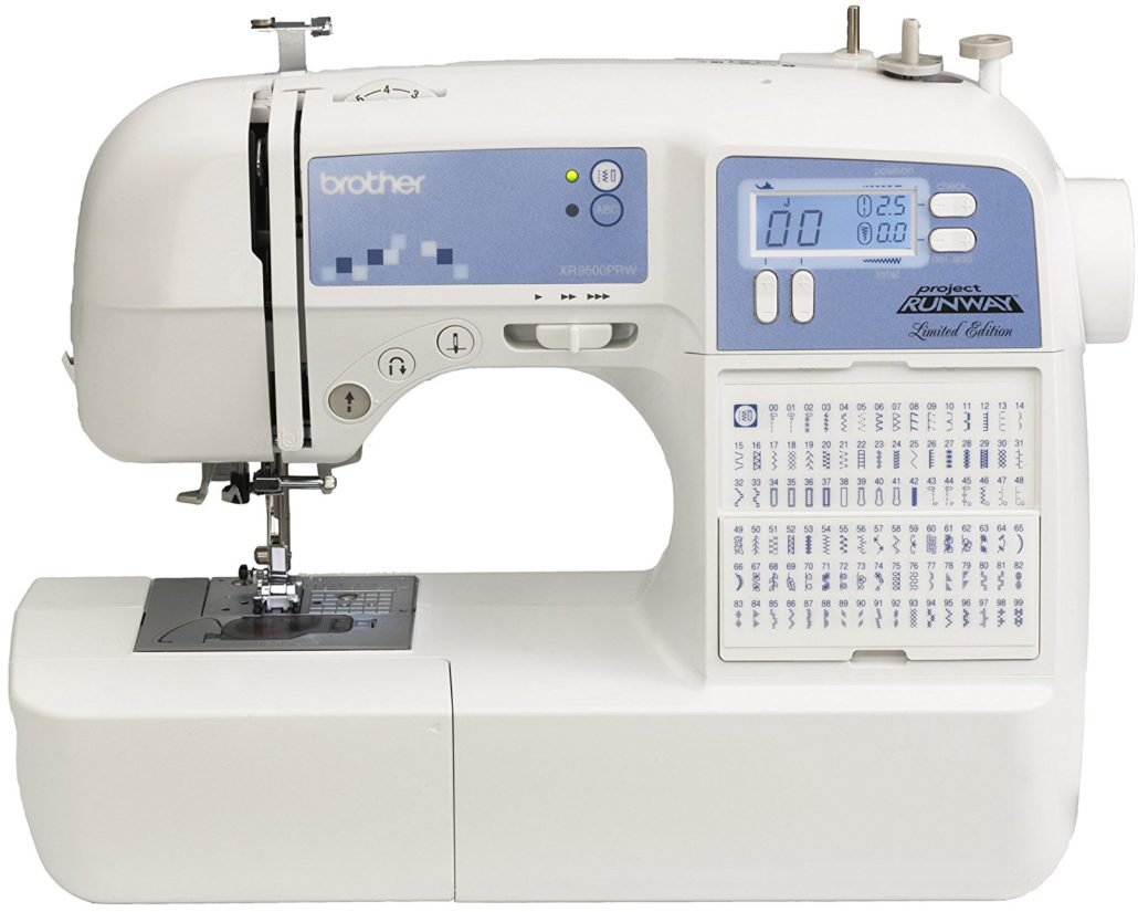 Top 10 Computerized Sewing Machines for 2017 - Brother XR9500PRW Limited Edition Project Runway