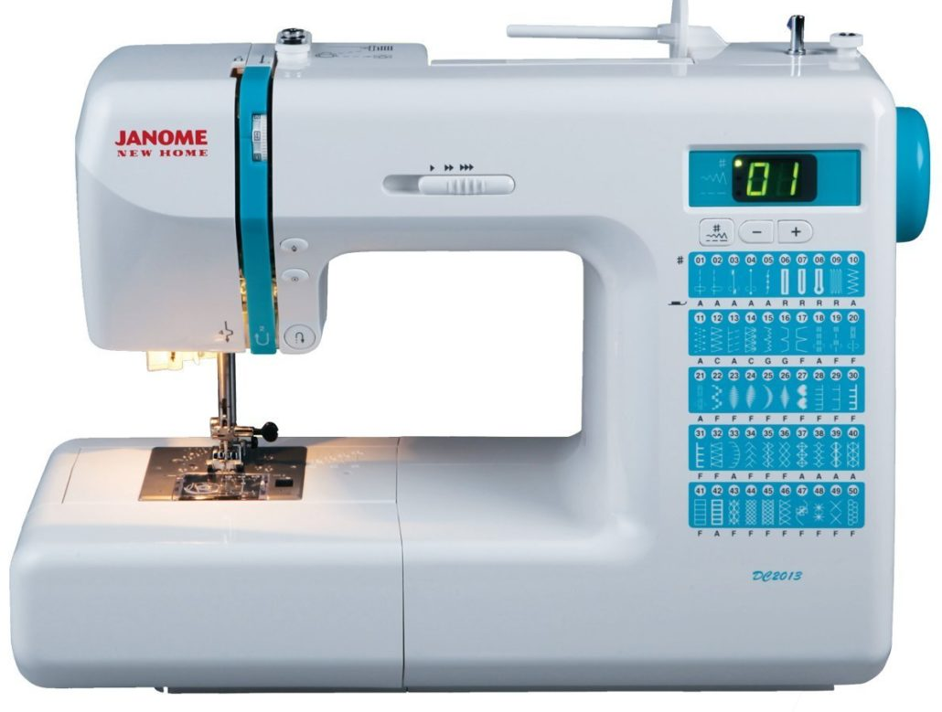 Top 10 Computerized Sewing Machines for 2017 - Janome DC2013