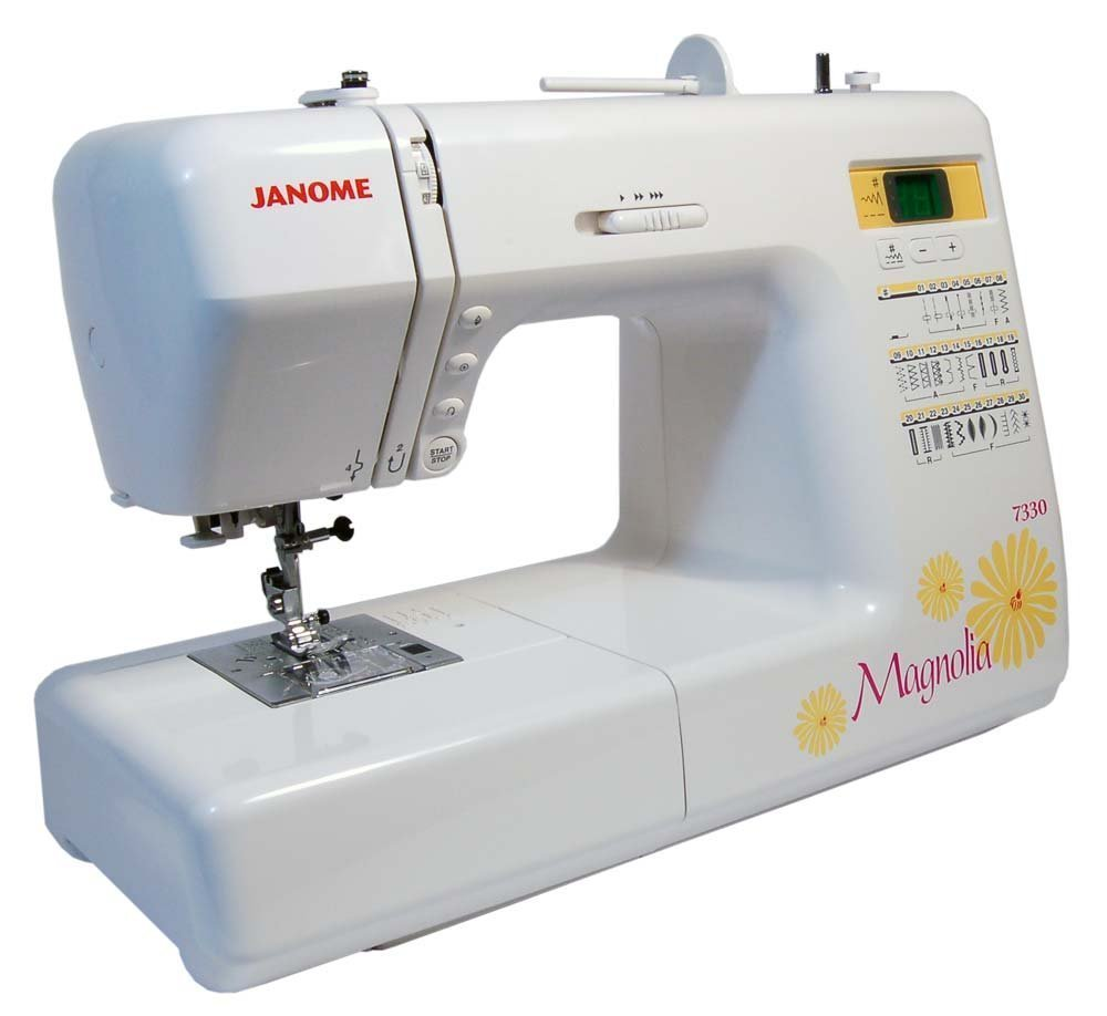 Top 10 Computerized Sewing Machines for 2017 - Janome Magnolia 7330