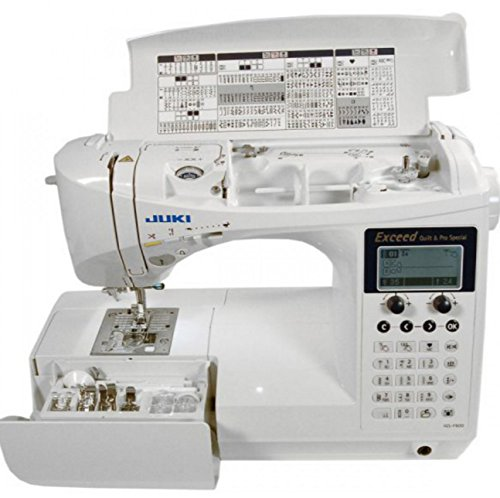 Top 10 Computerized Sewing Machines for 2017 - Juki HZL-F600