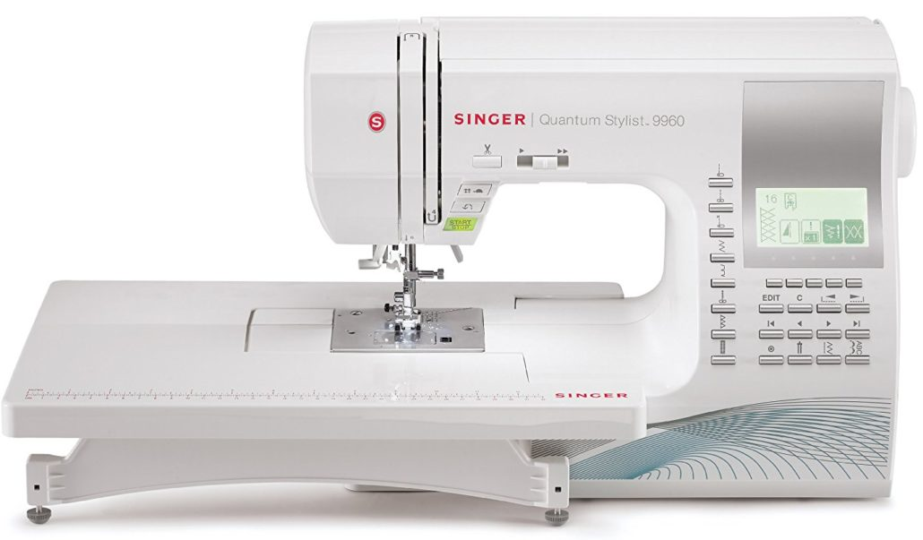 Top 10 Computerized Sewing Machines for 2017 - Singer 9960 Quantum Stylist